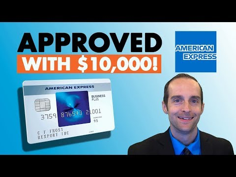 AMEX Blue Business Plus 0% Credit Card Application Approved with $10k Limit!