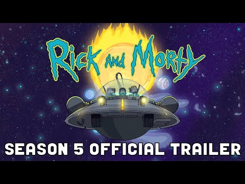 Rick and Morty Season 5 Trailer