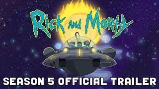 Rick and Morty | Season 5 - Trailer #1 [VO]