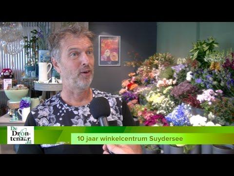 VIDEO | Zonovergoten eerste dag jubileum winkelcentrum Suydersee in Dronten