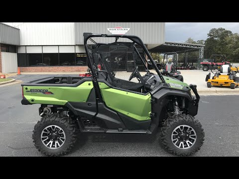 2021 Honda Pioneer 1000 Limited Edition in Greenville, North Carolina - Video 1