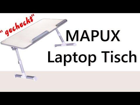 """""""gecheckt"""" Mapux Laptop -u. Mehrzwecktisch Mapux Laptoptisch Review *deutsch"""