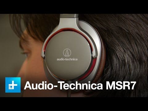 Audio-Technica MSR7 Headphones - Hands On