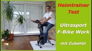 Ultrasport F-Bike Heimtrainer im Test