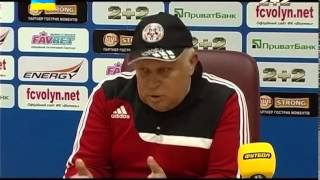 Перли Кварцяного після матчу Волинь - Ворскла