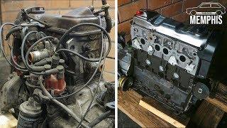 Refreshing an 80s VOLKSWAGEN engine  |  Volkswagen Golf Mk1 Engine swap