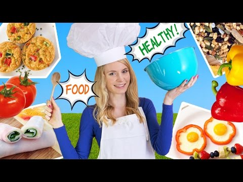 Video How to Cook Healthy Food! 10 Breakfast Ideas,  Lunch Ideas & Snacks for School, Work!