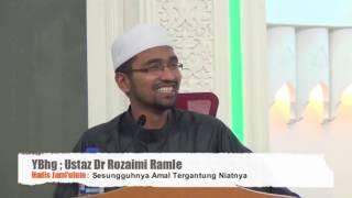 """""""NIAT TAK MASUK-MASUK"""" - DR ROZAIMI RAMLE (SALAH FAHAM TENTANG NIAT)"""