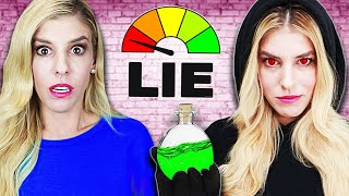 LIE DETECTOR TEST on Rebecca Zamolo find GAME MASTER! (Truth Revealed by RZ Twin)