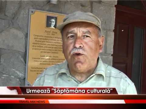 """""""Săptămâna culturală"""", la Buşteni – VIDEO"""