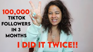 HOW I GOT 100,000 FOLLOWERS ON TWO TIKTOK ACCOUNTS - IN THREE MONTHS!!! | STAR HOLROYD