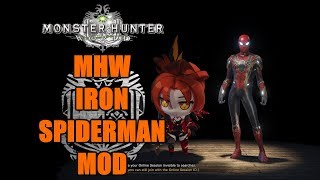MHW Iron Spiderman MOD