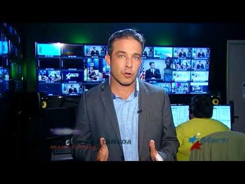 Noticiero Televisión Martí   08/14/2018