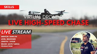 [Online Experience Philippines] VIRTUAL DRONE RACE - Live High Speed Chase. ????????????