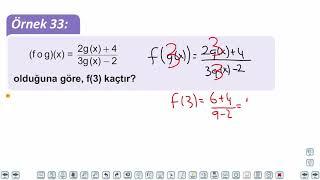 Eğitim Vadisi TYT Matematik 39.Föy Fonksiyonlar 2 Konu Anlatım Videoları