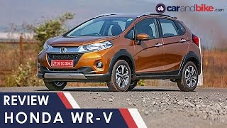 Honda WR-V Review - NDTV CarAndBike