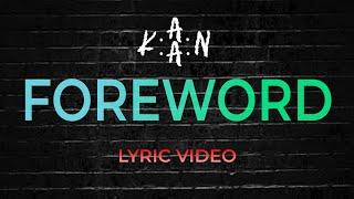 KAAN - Foreword (LYRIC VIDEO) - YouTube