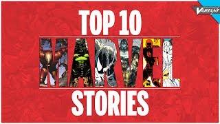 Top 10 Marvel Comics Stories!