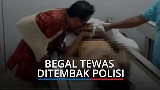 Begal Tewas Ditembak Polisi, Korban Cium Tangan Jenazah Pelaku di Medan: Saya Sudah Maafkan