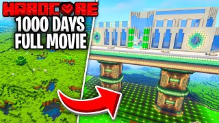 I Survived 1,000 Days in Hardcore Minecraft [FULL MOVIE]
