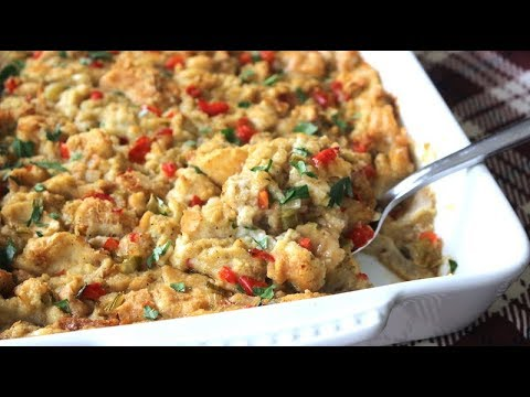 Simple Homemade Stuffing Recipe – For Sunday Dinner OR Thanksgiving – I Heart Recipes