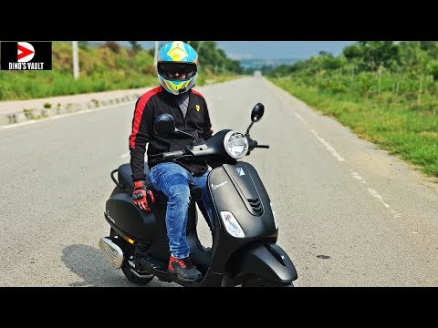 Vespa Notte 125 First Ride Review Pros Cons Braking Test #ScooterFest