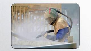 what is the purpose of sandblasting?