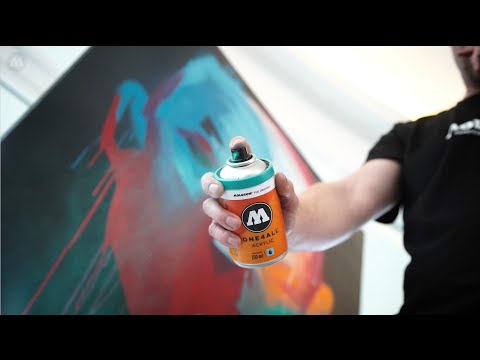 MOLOTOW™ Product Sessions #29 - ONE4ALL™ ACRYLIC SPRAYPAINT