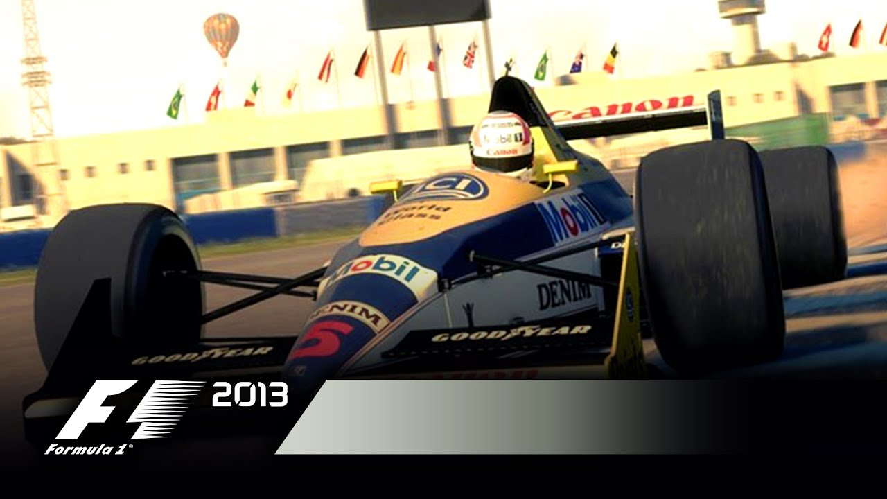 F1 2013 Adds Classic Mode And Murray Walker