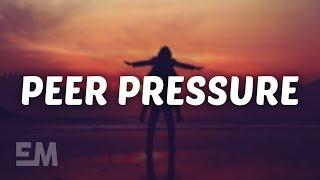 James Bay   Peer Pressure (Lyrics) Feat. Julia Michaels