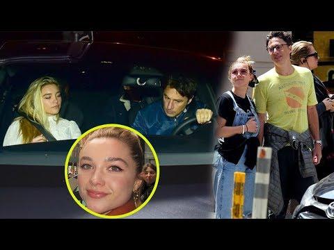 Florence Pugh Family Video With Boyfriend Zach Braff