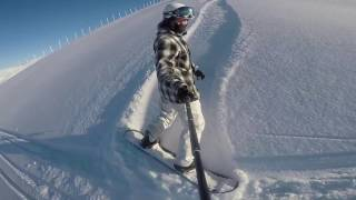 2017 Uludağ Backcountry Snowboarding