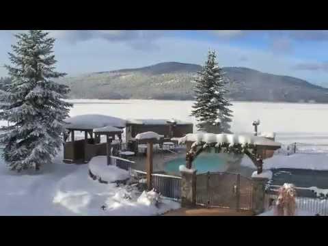 Video invernale da pesca da sotto di ghiaccio video