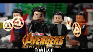 Avengers Infinity War Trailer in LEGO