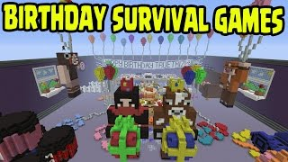 Minecraft Ps4ps3 Mini Games Survival Hunger Games Birthday