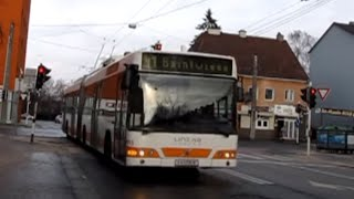 preview picture of video 'Buses & Trolleybuses in Linz Austria'