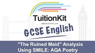 """The Ruined Maid"" Analysis Using SMILE: Poetry (English Literature)"