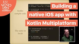 Building a native iOS app with Kotlin Multiplatform, Lammert Westerhoff (English)
