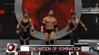 wwe-2k16-nation-of-domination-the-new-day-and-john-cena-entrance-videos