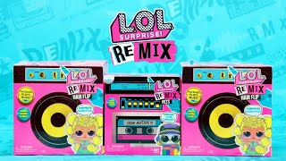 L.O.L. Surprise! Dolls | How To Unbox Remix Hair Flips and Pets