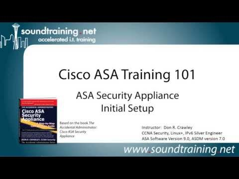 Cisco ASA 5505 Firewall Initial Setup: Cisco ASA Training 101 ...