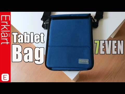 Beste Tablet Tasche fürs iPad / Galaxy Tab? 7EVEN Tablet Bag - Test / Review & Auspacken (Deutsch)