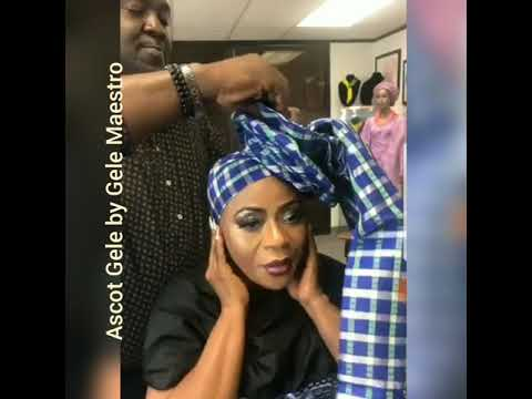 How to whip up the Ascot Gele