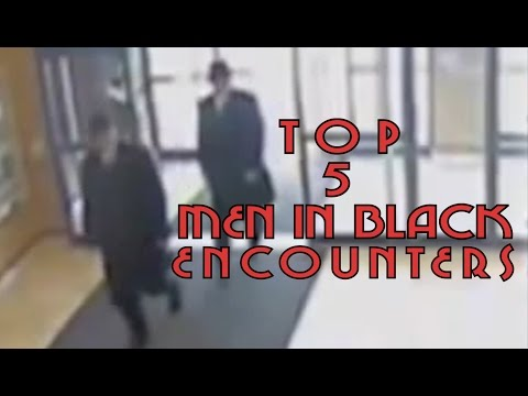 Top 5 Scary Men In Black Mib Encounters