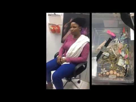 Nigerian Instagram Big Babe Called Victoria caught stealing in Malaysia