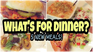 What's For Dinner? | Family Dinner Ideas | Real Life Meal Ideas | Collab with Sarah Marie