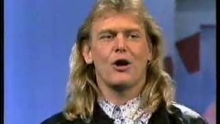 John Farnham & Danni'elle interviewed by Molly Meldrum (1989)