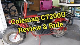 Mini Bike Review And Trail Riding
