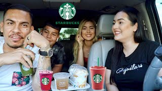 Letting Youtubers Pick Our Starbucks Drinks!!!