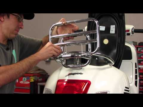 How to Install a Topcase on a Vespa GTS